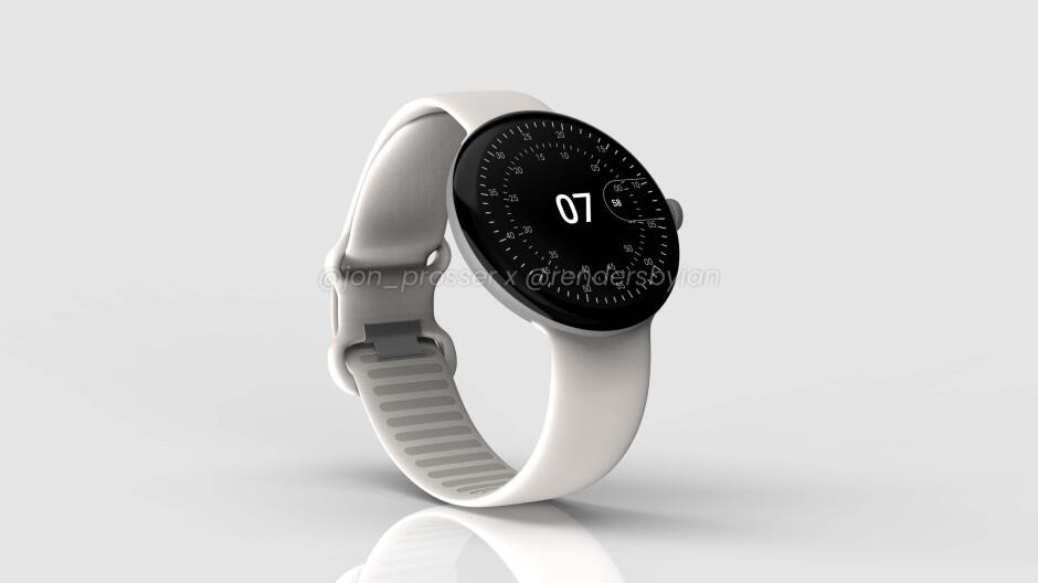 Google Pixel Watch se filtra en todo su esplendor con pantalla circular