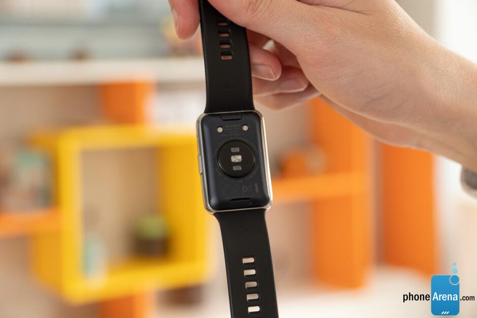 Review elegante de Huawei Watch Fit: banda de fitness con esteroides