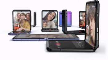 La enorme línea de colores del Galaxy Z Flip 3 destaca lo serio que es Samsung con sus plegables de próxima generación