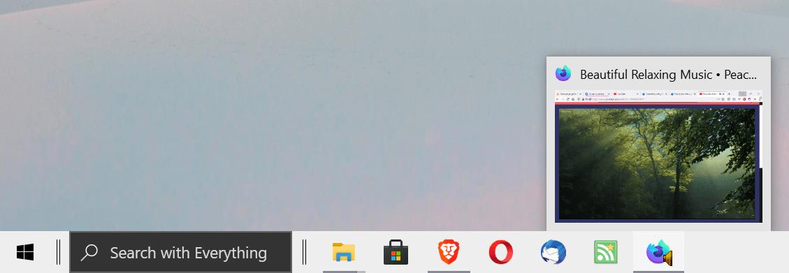 insignias de sonido de la barra de tareas de Windows