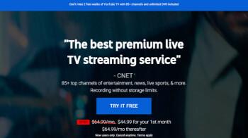 Los nuevos clientes afortunados obtienen $ 20 de descuento en el servicio de suscripción de YouTube TV