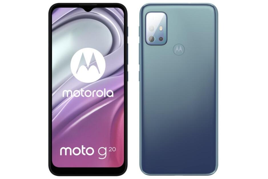 Presuntos renders de Moto G20: los renders filtrados revelan los elegantes diseños de los modelos Moto G60 y Moto G20 de gama media