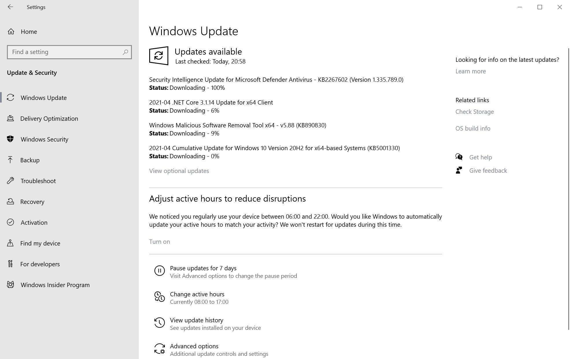 actualizaciones de seguridad de microsoft windows abril de 2021
