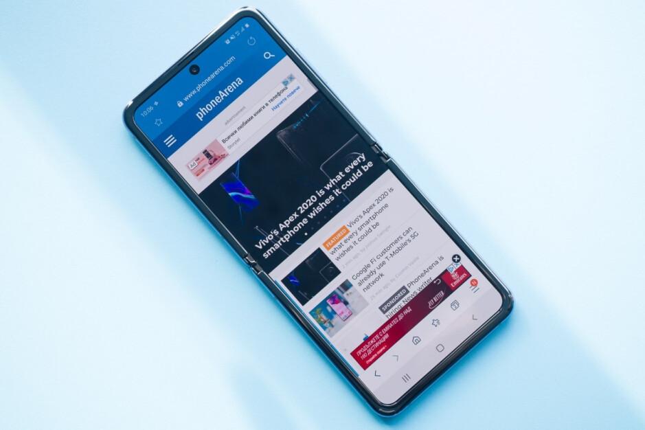 Este es el Galaxy Z Flip de primera generación: si esto es lo que Samsung está planeando para el Galaxy Z Flip 3, no estamos impresionados