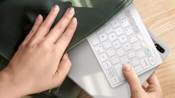 Samsung presentará un nuevo teclado de viaje para quienes usan teléfonos, tabletas y PC