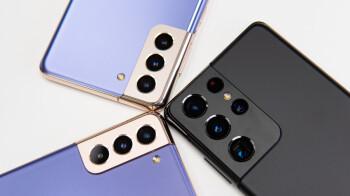 Algunos teléfonos 5G de la serie Samsung Galaxy S21 reciben una actualización de mayo en abril
