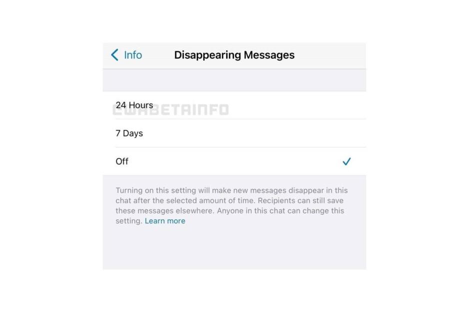 Actualmente, se dice que WhatsApp está trabajando en la nueva opción de mensajes que desaparecen: la función de mensajes que desaparecen de WhatsApp puede ofrecer más opciones de tiempo en el futuro