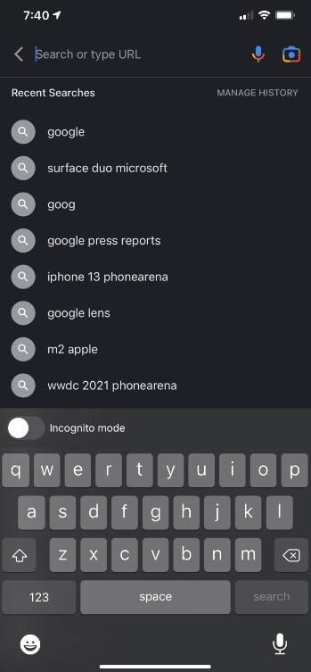La aplicación de Google para iOS se parece cada vez más a un navegador: la actualización a la aplicación de Google para iOS hace que se parezca más a un navegador que antes