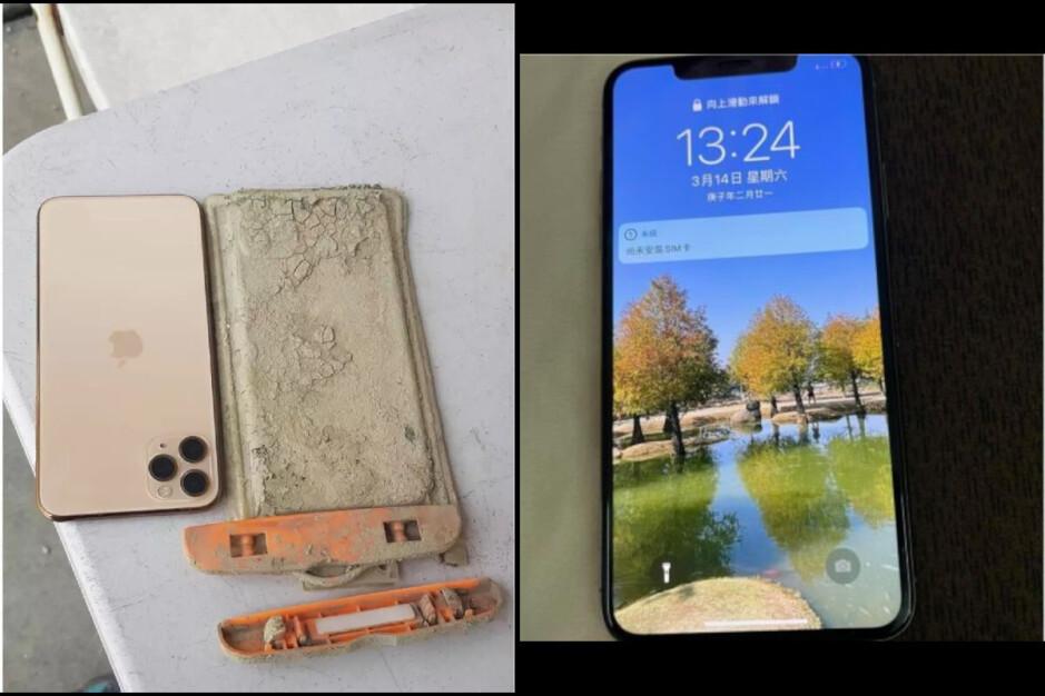 El iPhone 11 Pro Max, después de pasar un año en el fondo del lago: el iPhone se recuperó después de sobrevivir un año bajo el agua