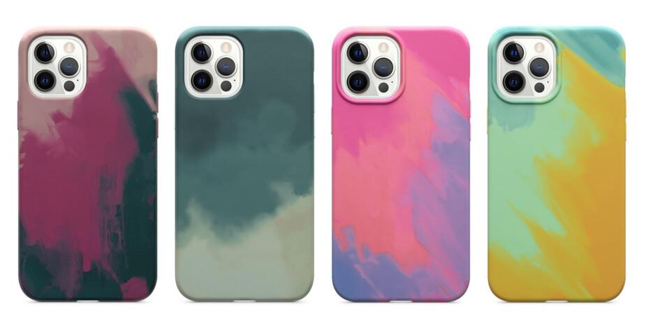 Los cuatro colores de la serie Figura de OtterBox: los mejores accesorios MagSafe para iPhone 12
