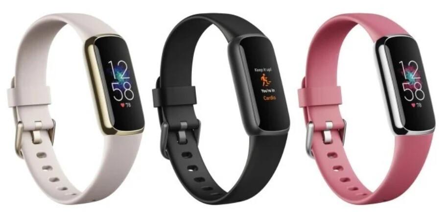 El próximo Fitbit Luxe estará disponible en tres opciones de color diferentes: imágenes de la fuga del rastreador de fitness Fitbit Luxe