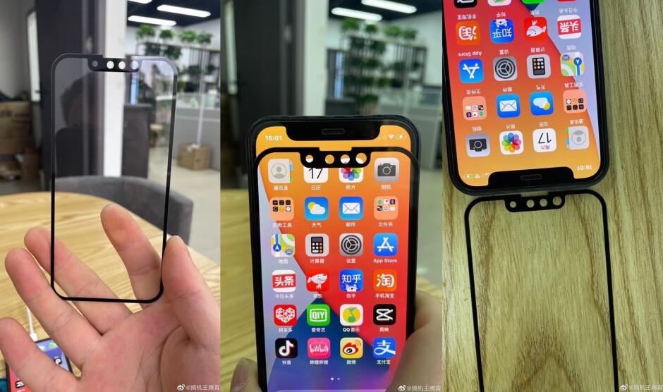 Los paneles de vidrio supuestamente para la serie iPhone 13 muestran una muesca más pequeña: la evidencia fotográfica supuestamente muestra una muesca más pequeña para la serie de iPhone 5G de este año