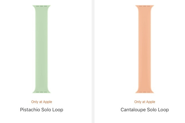 Echa un vistazo a las nuevas y coloridas correas de Apple Watch de Apple