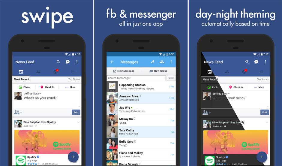 Facebook vuelve a tomar medidas enérgicas contra aplicaciones de Android de terceros