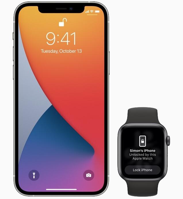 Con la llegada de iOS 14.5 hoy, los usuarios de iPhone con mascarilla pueden omitir Face ID y usar un Apple Watch desbloqueado para ingresar a su teléfono: Apple finalmente lanza iOS 14.5