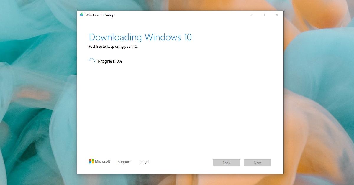 Windows Media Creation Tool Not Working