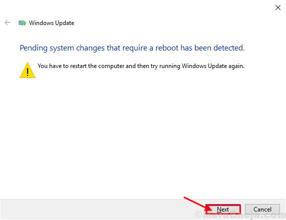 Solucionador de problemas de Windows Update2