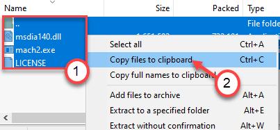 Copiar a clips Min