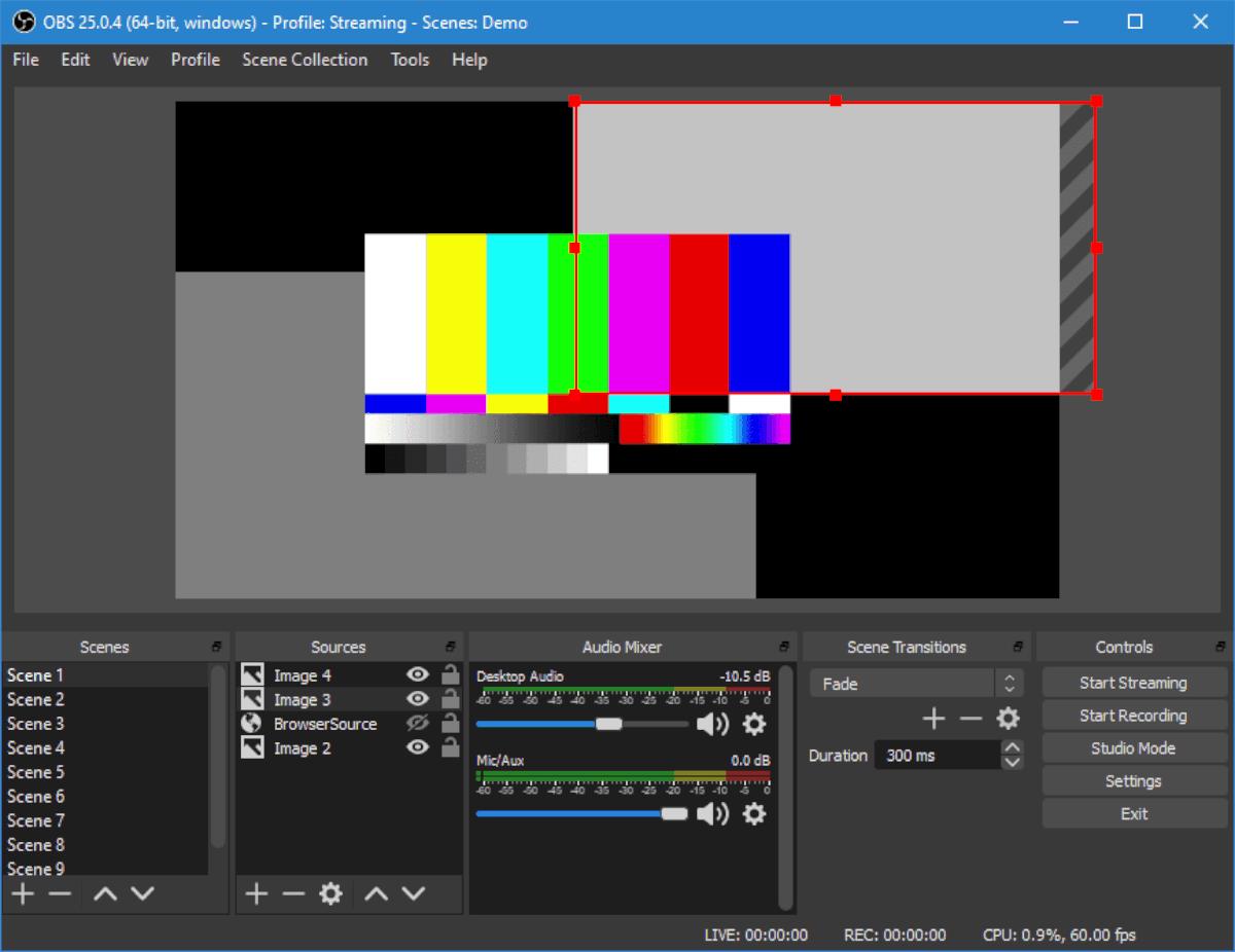 Open Broadcaster (OBS) en Ubuntu