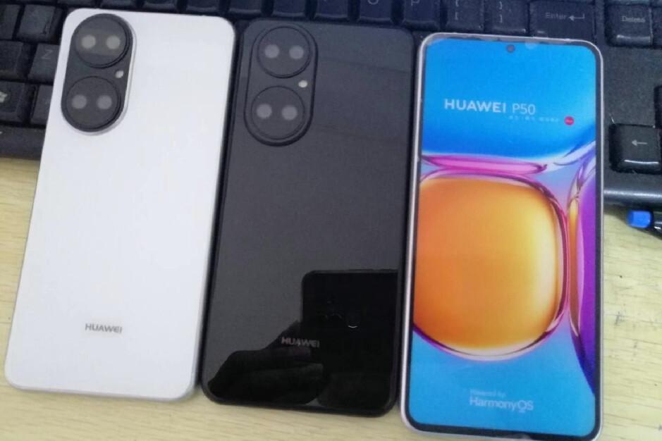 Las unidades ficticias filtradas del Huawei P50 corroboran el diseño, insinúan que no hay Android