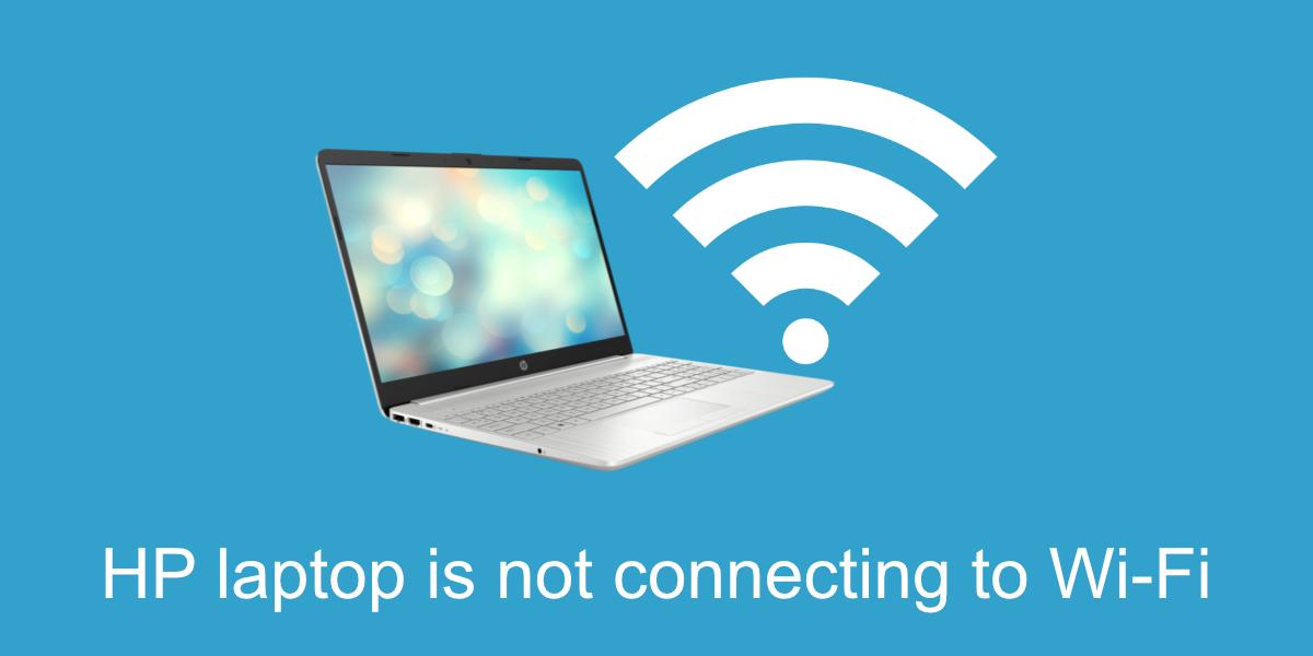 El portátil HP no se conecta a WiFi