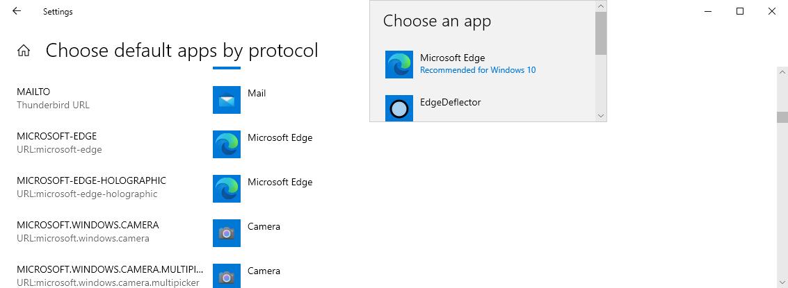 deflector de bordes windows 10