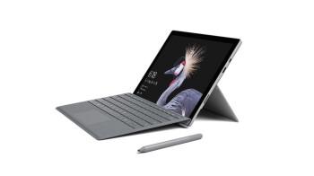 La tableta Surface Pro 5 de Microsoft está a la venta por poco más de $ 400 (teclado incluido)
