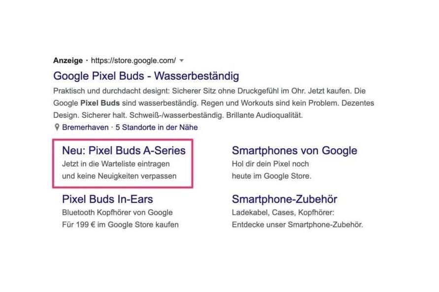 Anuncio de la serie A de Pixel Buds visto - Google I / O 2021: Google parece haber confirmado al menos un anuncio de producto