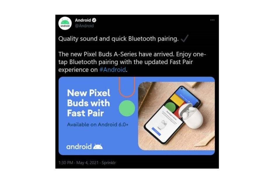 Un tweet ahora eliminado de la cuenta @Android sugiere que un anuncio está a la vuelta de la esquina: Google I / O 2021: Google parece haber confirmado al menos un anuncio de producto