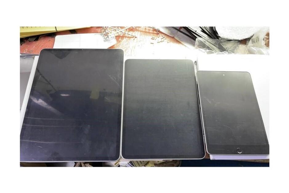 Supuesta unidad ficticia del iPad mini 6 (extremo derecho): el iPad mini 5G se inspirará en el diseño del iPad Pro: primicia