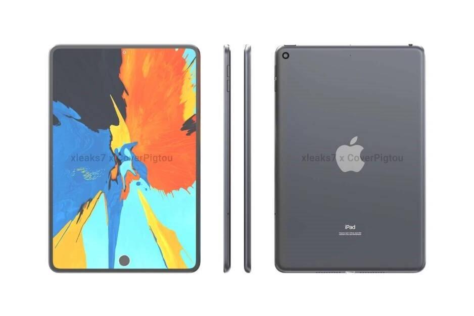 Renders incompletos del iPad mini 6: el iPad mini 5G se inspirará en el diseño del iPad Pro: primicia