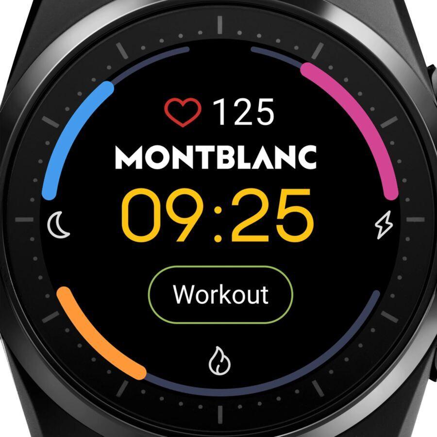 El reloj inteligente Summit Lite de Montblanc llega a los EE. UU. Con un precio de lujo