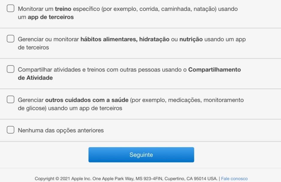 En Brasil, Apple envía una encuesta que menciona el control de la glucosa: Apple parece estar lista para ahorrarles a los diabéticos grandes sumas de dinero y mucho dolor.