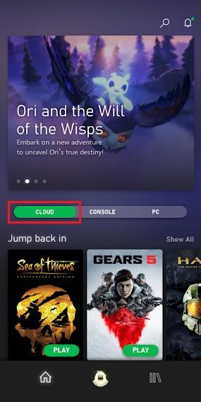 Juega juegos en Android con Xbox Game Pass