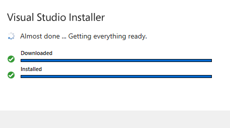 Instalación de Visual Studio