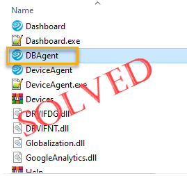 Cómo reparar DBAgent.exe que causa un error del sistema