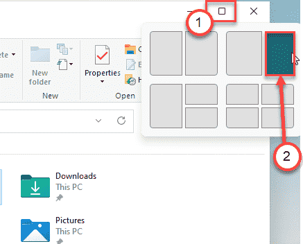 Explorador de archivos Split Min