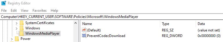 Preventcodecdownload
