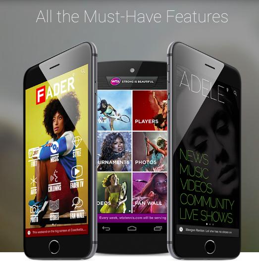 Plataforma de creación de aplicaciones móviles: Mobile Roadia