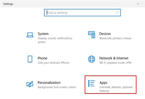 Ms Store Error de lanzamiento Restablecer configuración de aplicaciones Mín.