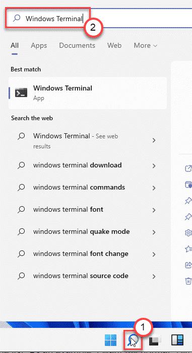 Terminal Search Box Min
