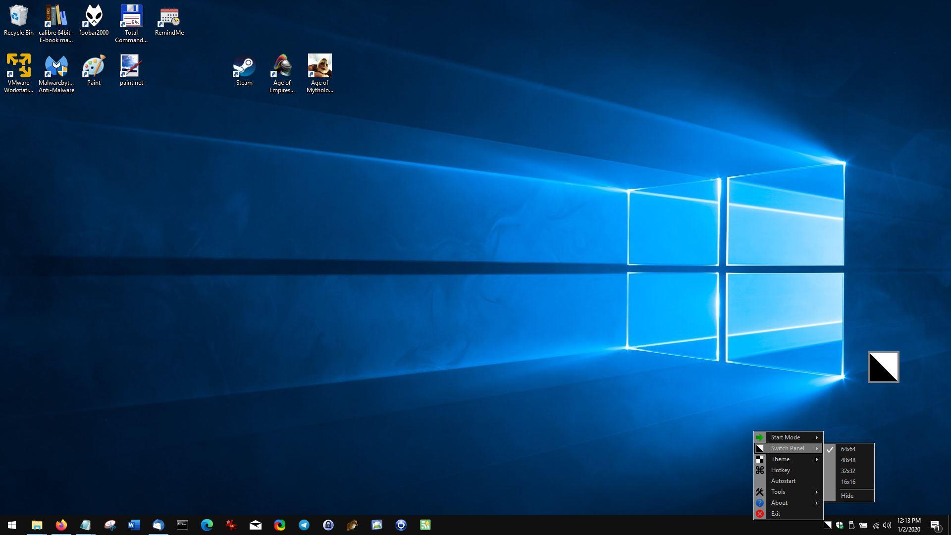 Habilite el tema oscuro en Windows 10 con un solo clic o una tecla de acceso rápido usando el Modo Oscuro Fácil