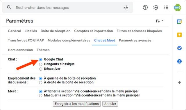 Cómo activar el chat de Google en su navegador web
