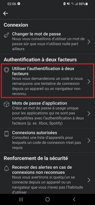 Cómo configurar la autenticación de dos factores en Facebook