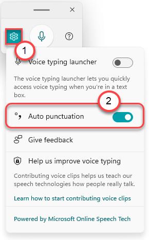 Auto Punctuation