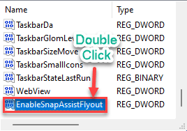Enable Snap Dc Min