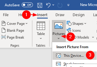 Insertar imagen de este dispositivo