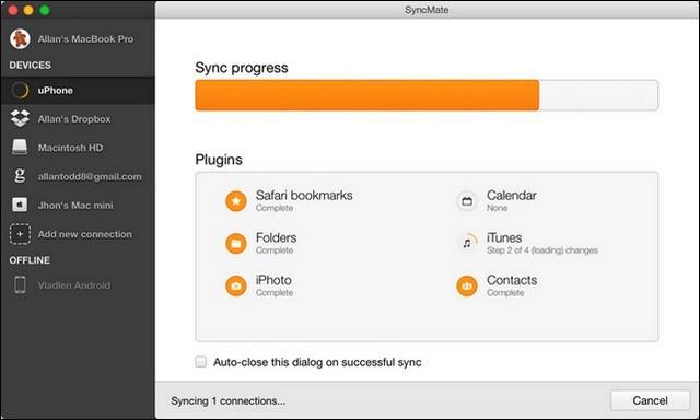 SyncMate: alternativa a la transferencia de archivos de Android