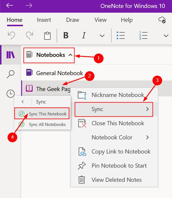 Sync Manually Onenote Windows Min