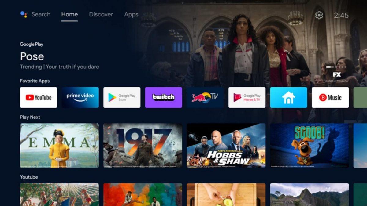 Google TV para Android tiene más servicios de transmisión y en vivo